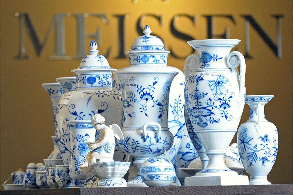 Die Sammlung von Meissner Porzellan könnte für mehr als 1,6 Millionen Euro versteigert werden. (Archivbild)
