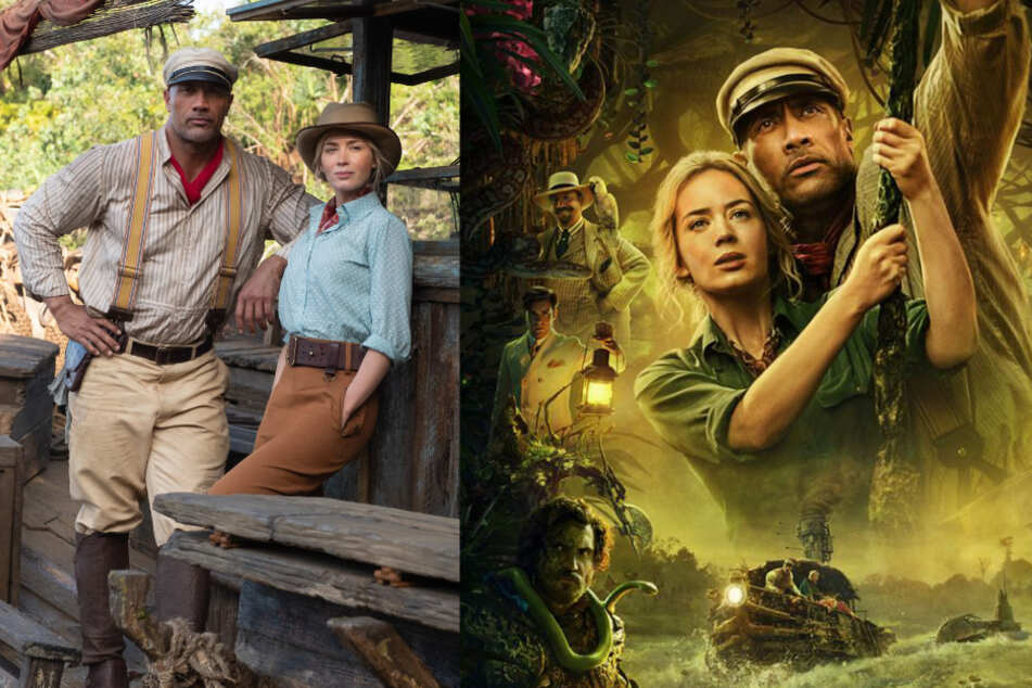 """Dwayne """"The Rock"""" Johnson begeistert im actiongeladenen Trailer zu""""Jungle Cruise"""""""