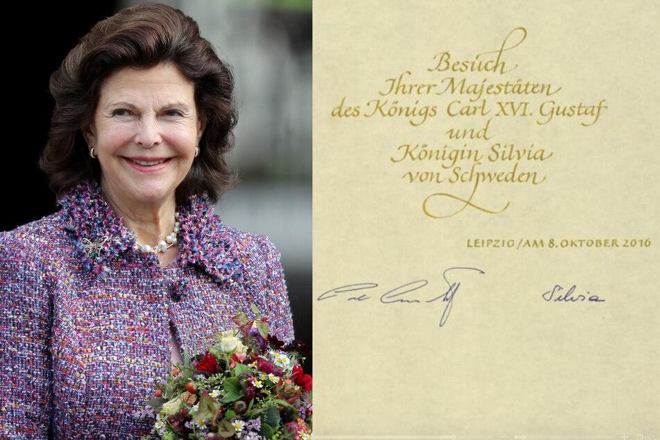 Auch Schwedens Königin Silvia zog es wiederholt in den Freistaat. (Bildmontage)
