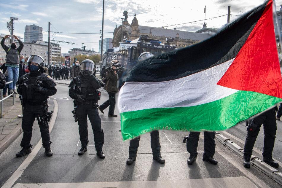 Wegen der aufgeheizten Lage wurde die für Samstag geplante pro-palästinensische Demonstration in Frankfurt abgesagt (Symbolbild).