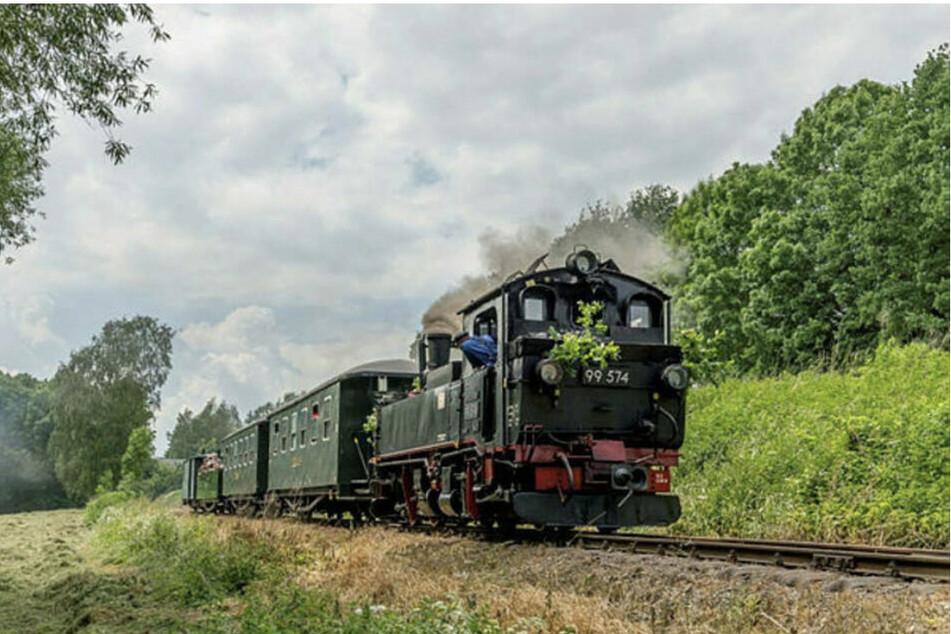Am Sonntagabend rammte die Döllnitzbahn bei Oschatz ein Wohnmobil. Verletzt wurde glücklicherweise niemand. (Archiv)