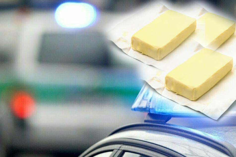 380 Stück Butter! Diebe machen fette Beute in Chemnitz