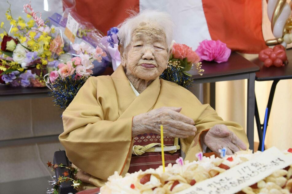 The world's oldest person does not plan on going anytime soon.