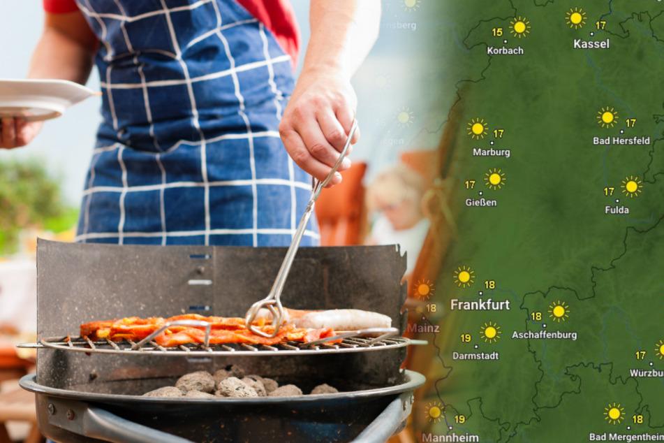 Das Hessen-Wetter zum Wochenende: Jetzt kann die Grill-Saison eröffnet werden!
