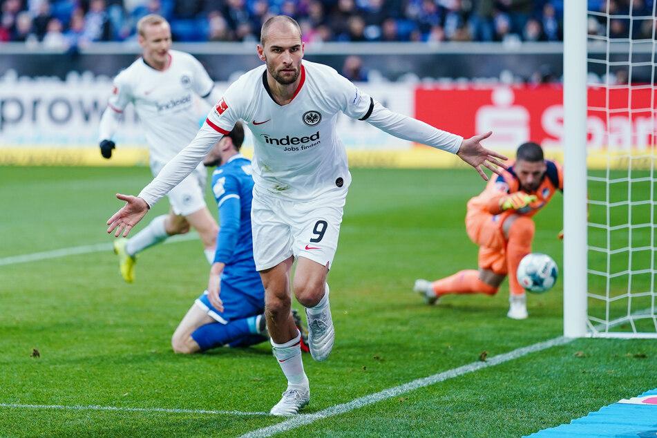 Kickt Eintracht-Stürmer Bas Dost (31) schon bald im Dress von Tottenham Hotspur?