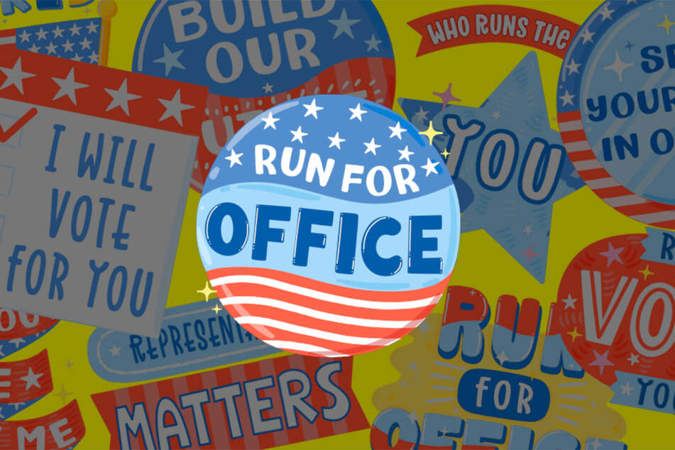 Stickers are another part of the feature, which supporters of a Run for Office candidate can use on their Snaps.
