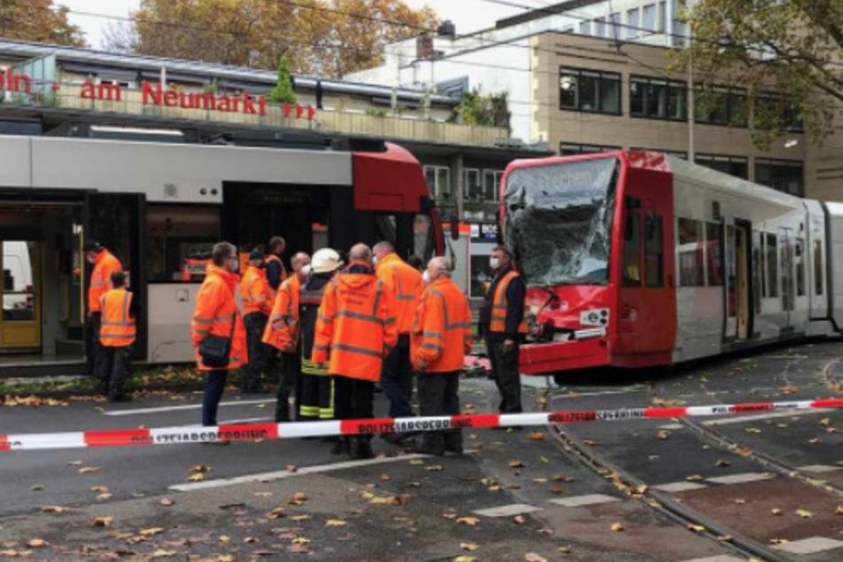 Der Unfall am Neumarkt mit den KVB-Bahnen ereignete sich am 2. November 2020.