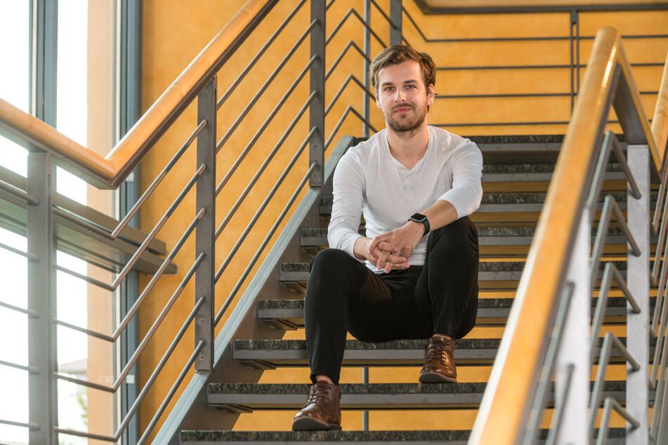 """Daniel Siegel (30) möchte kommendes Jahr zu """"Mister Handwerk"""" ernannt werden."""