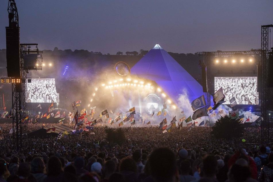 Glastonbury is one of the world's biggest music festivals.