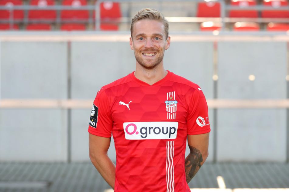 Nils Butzen (28) ist einer der zehn Neuen beim FSV Zwickau.