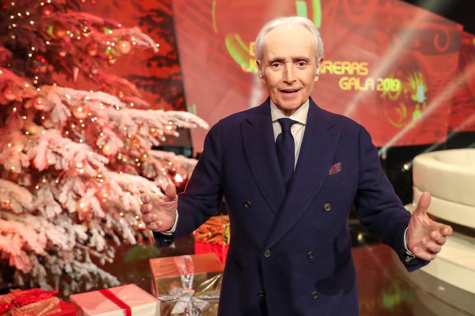 Star-Tenor José Carreras (74) will in diesem Jahr in Leipzig wieder Spenden für Menschen mit Leukämie sammeln. (Archivbild)