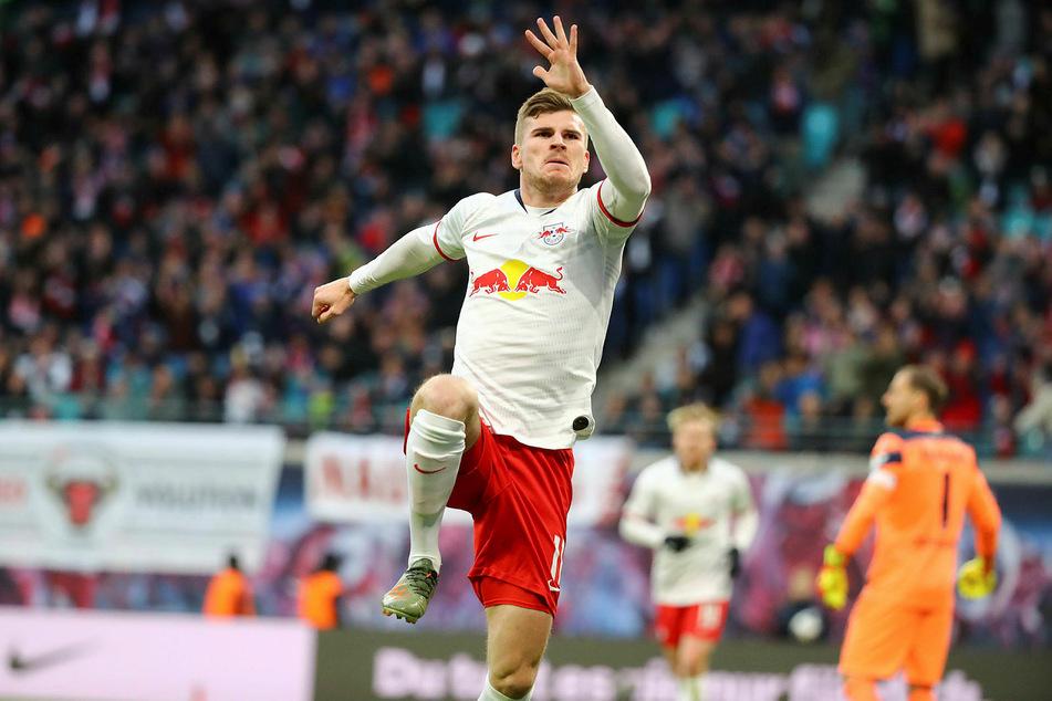 Timo Werner (24) absolviert noch zwei Partien für RB Leipzig, ehe es für ihn nach London geht.