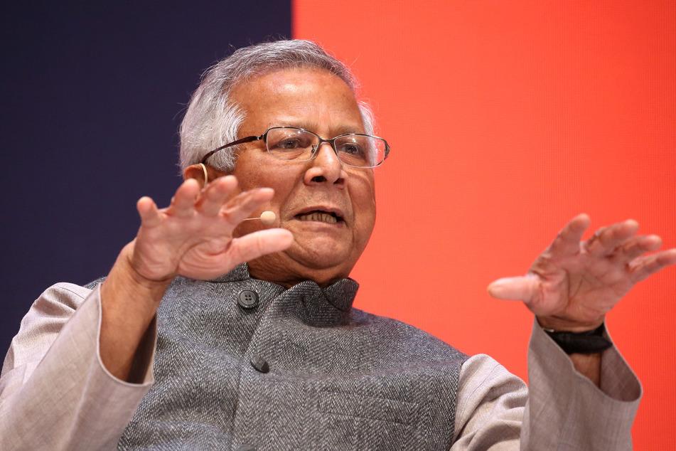 Der Friedensnobelpreisträger Muhammad Yunus (80) stammt aus Bangladesch.