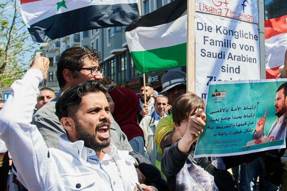 Die anti-israelische Al-Kuds-Demonstration in Berlin steht seit längerem in der Kritik.
