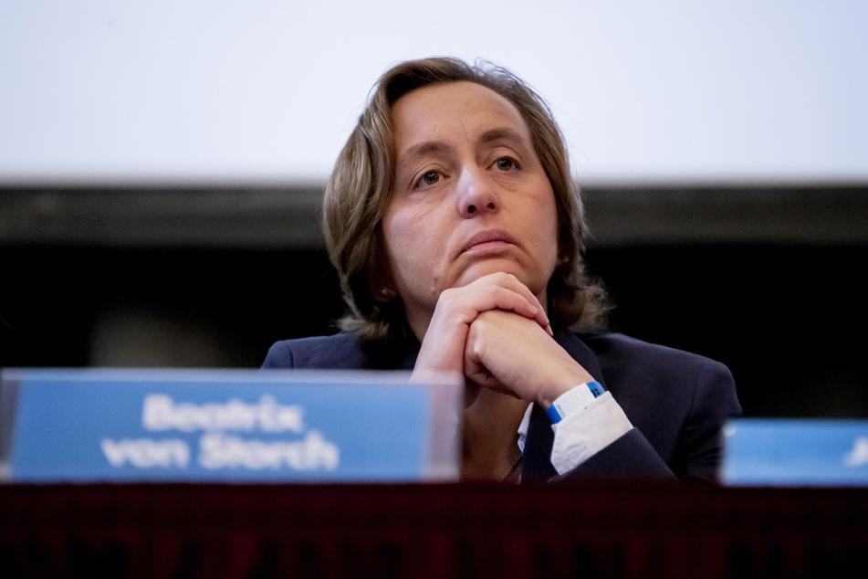 Der Staatsschutz hat die Ermittlungen gegen Beatrix von Storch aufgenommen.