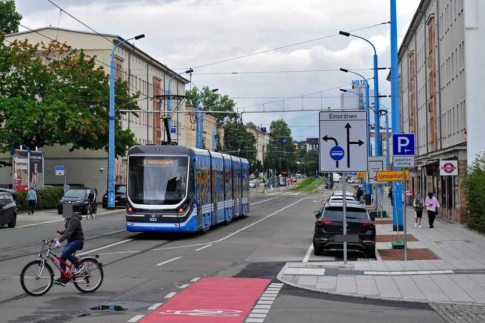Im Bereich Reitbahnstrasse/Moritzstrasse plant die Stadt eine Tempo-30-Zone.