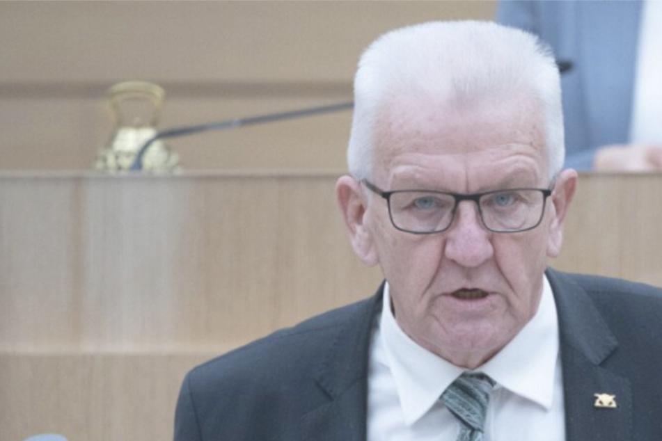Ministerpräsident von Baden-Württemberg Winfried Kretschmann.