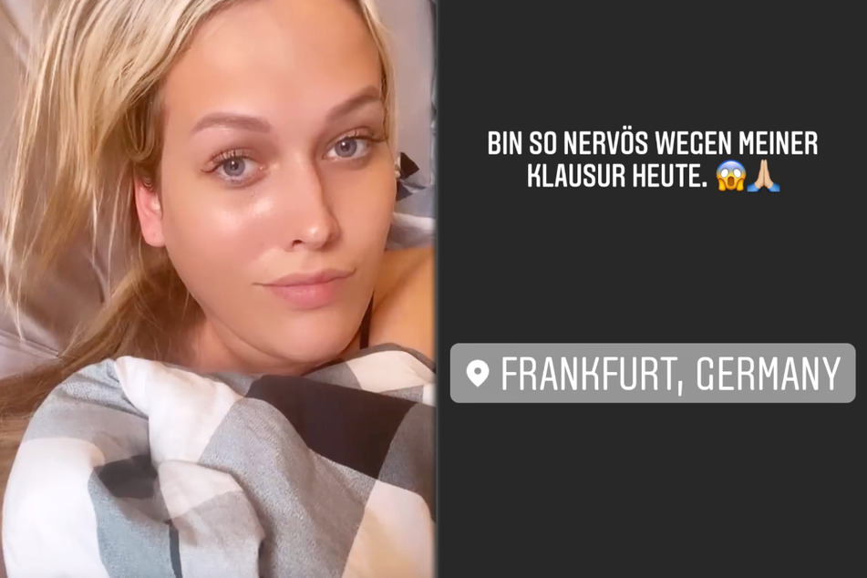 Noch am Dienstagmorgen veröffentlichte Josimelonie (27) eine Instagram-Story, in welcher sie ihre große Nervosität angesichts der anstehenden Klausur gestand.