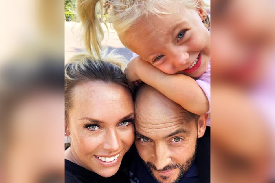 """Tochter Daliah (6) und Lebensgefährte Iwan geben der TV-Auswanderin viel Kraft. Gemeinsam hat die kleine Familie noch """"tolle Pläne"""" für die Zukunft."""