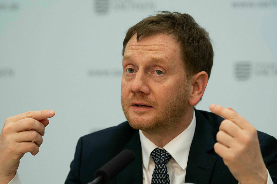 Sachsens Ministerpräsident Michael Kretschmer (44, CDU).