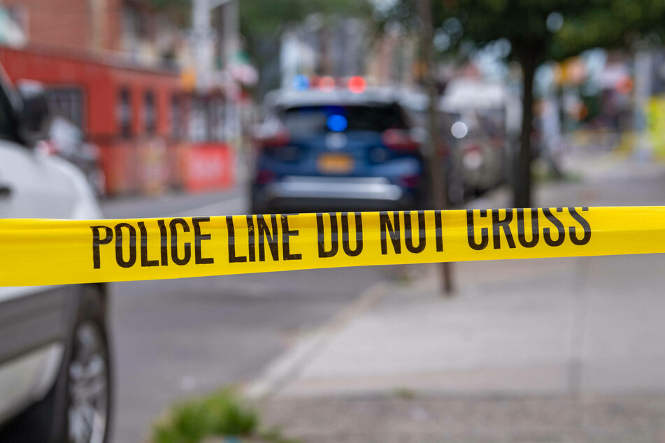Police tape surrounded a four-block radius of 99th Street and 37th Avenue in Queens, New York.
