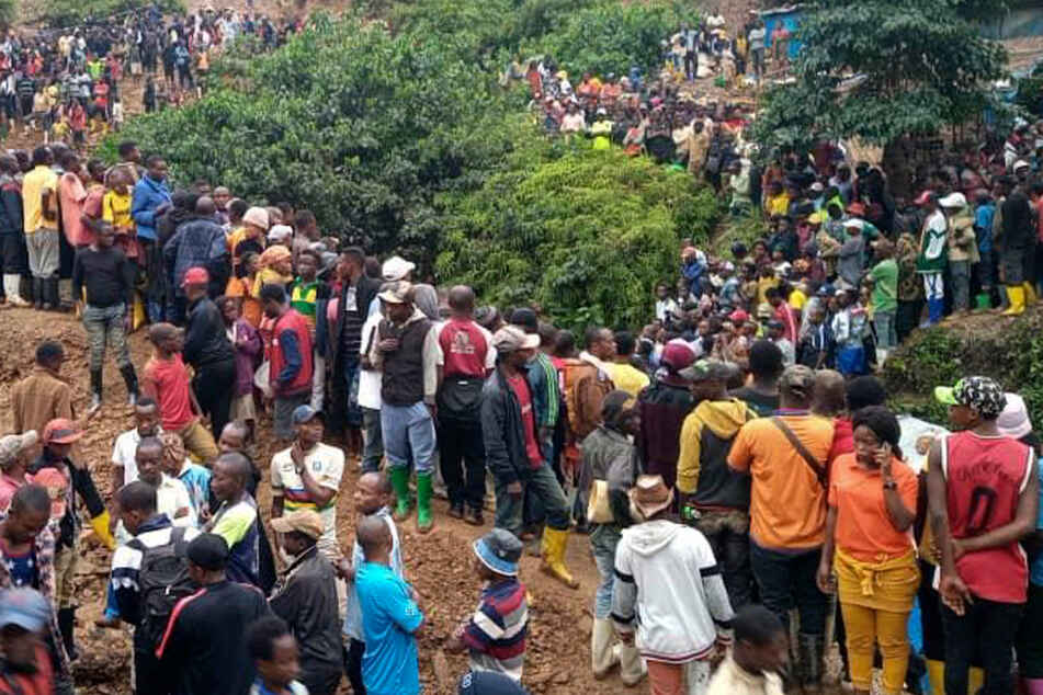 At least 50 dead after mine collapse in the Congo