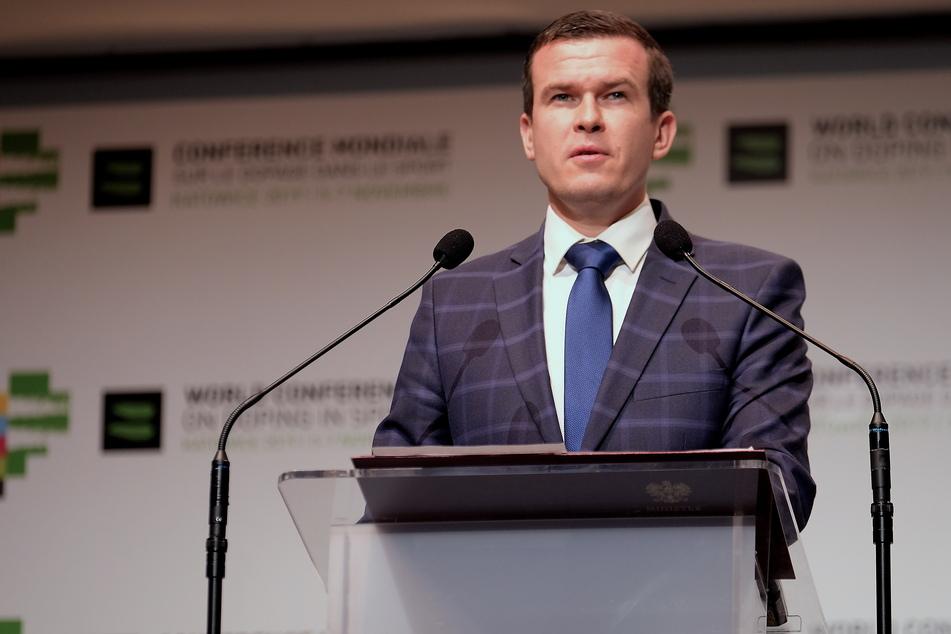 WADA-Präsident Witold Banka.