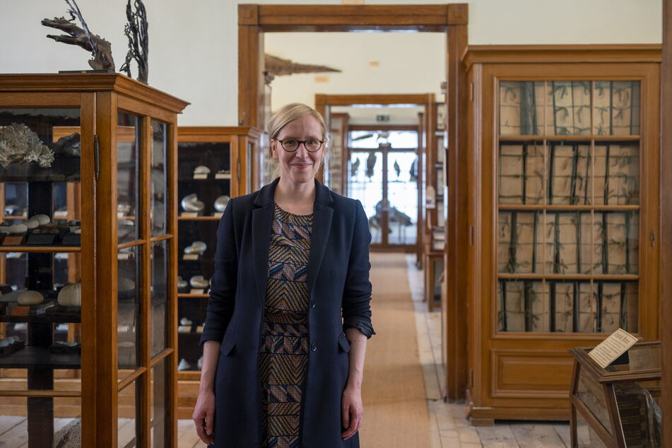 Museumsleiterin Fanny Stoye (35) gibt sich trotz der vielen Widrigkeiten nicht geschlagen.