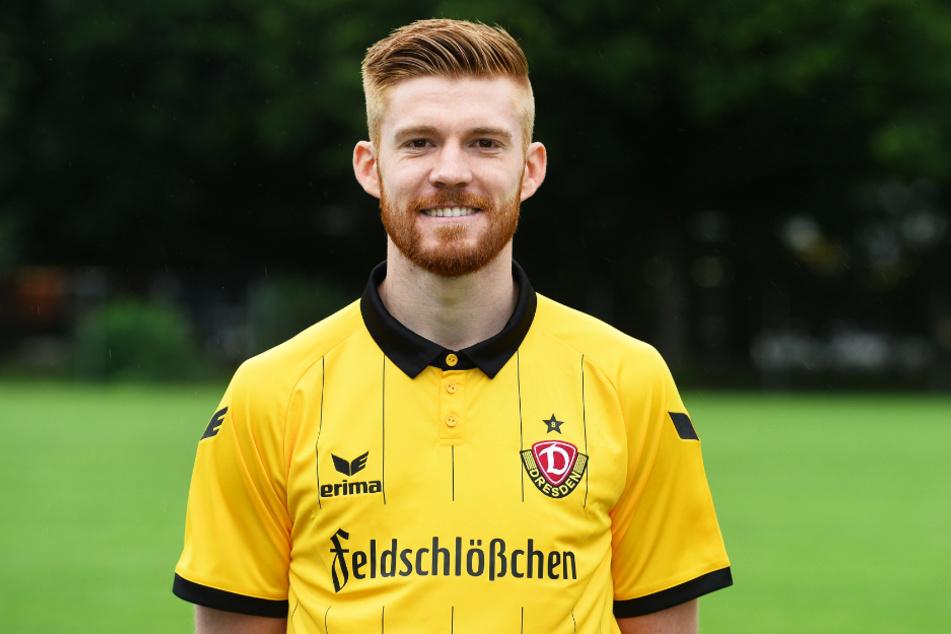 Mathias Fetsch (32) spielte von 2014 bis 2016 für Dynamo Dresden, kam 25 Mal zum Einsatz, erzielte vier Tore und gab eine Vorlage.