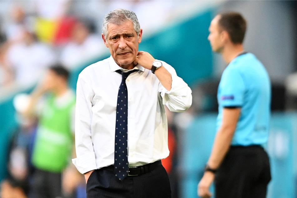 Portugals Nationalcoach Fernando Santos (66) übernahm für die Niederlage die Verantwortung.