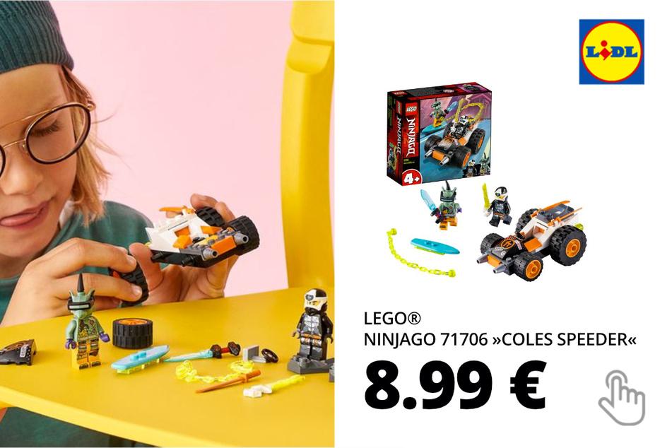 "LEGO® NINJAGO 71706 ""Coles Speeder"""