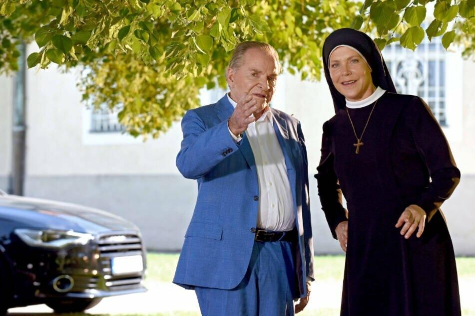 Waren über 15 Jahre lang ein Traum-Paar: Fritz Wepper (79) und Janina Hartwig (59).