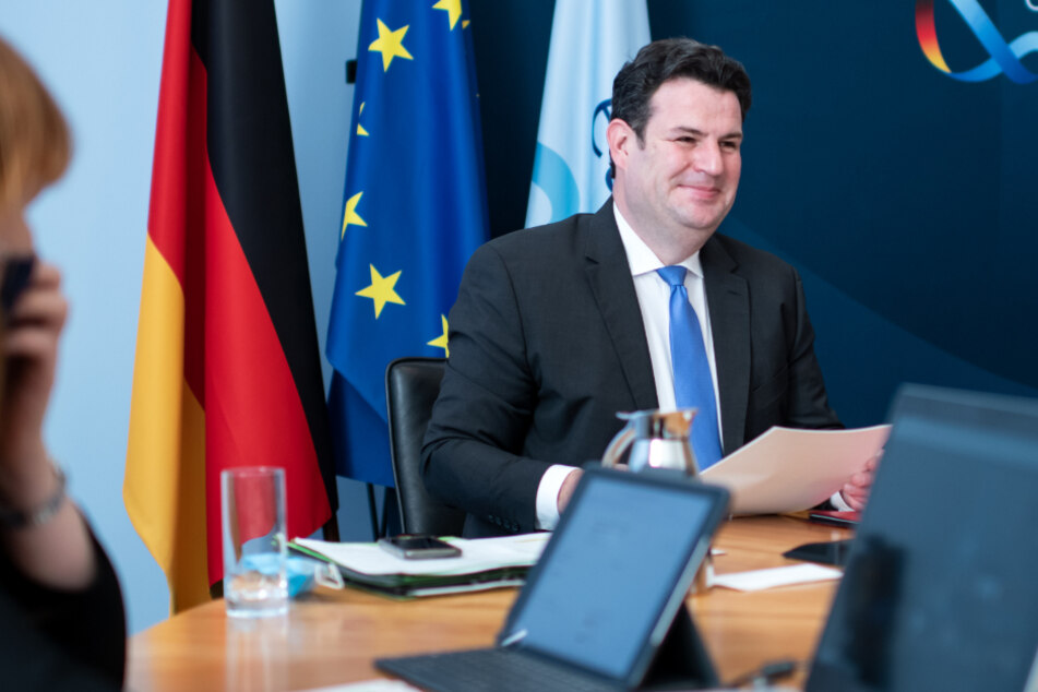 Bundesminister Hubertus Heil (47, SPD).