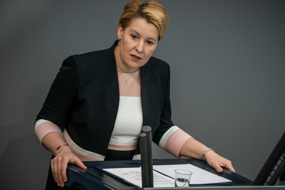 Familienministerin Franziska Giffey (41).