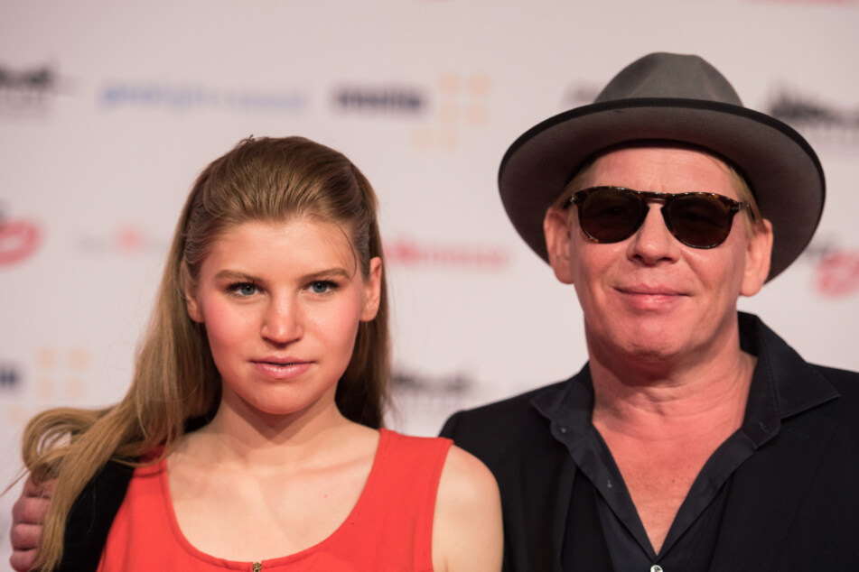 Ben Becker und seine Tochter Lilith (20), die 2020 beim Dresdner SemperOpernball debütierte.