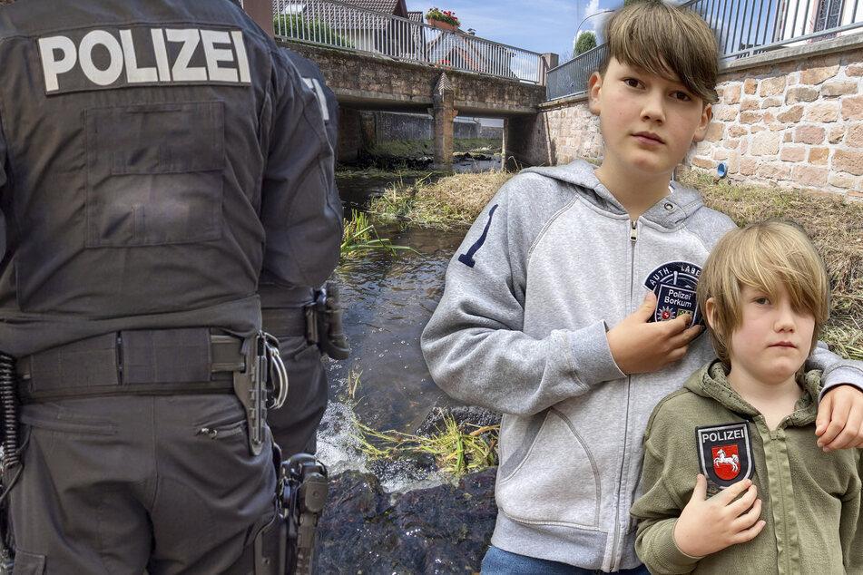 Krokodil im Bach, Beamte als Babysitter und blöde Einbrecher: So lustig war das Polizei-Jahr 2020