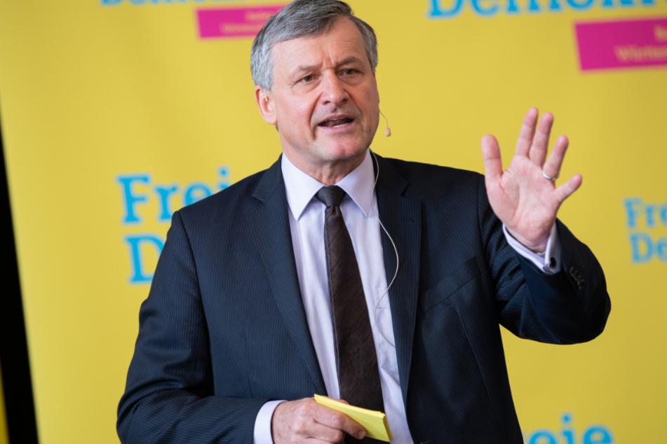 Hans-Ulrich Rülke (58), stellvertretender Landesvorsitzender der FDP Baden-Württemberg und Fraktionsvorsitzender im Landtag von Baden-Württemberg.