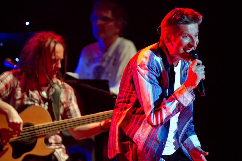 Pur-Sänger Hartmut Engler (59) zeigt auf der Bühne sein Können. (Archivbild)