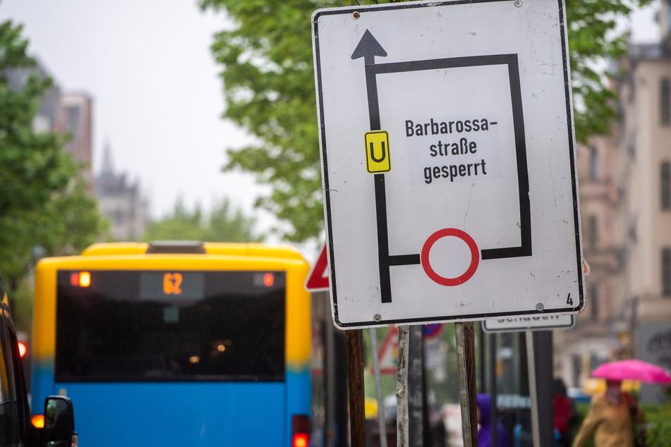 Baustellen Chemnitz: Neue Baustellen in Chemnitz: Hier wird es ab Dienstag eng