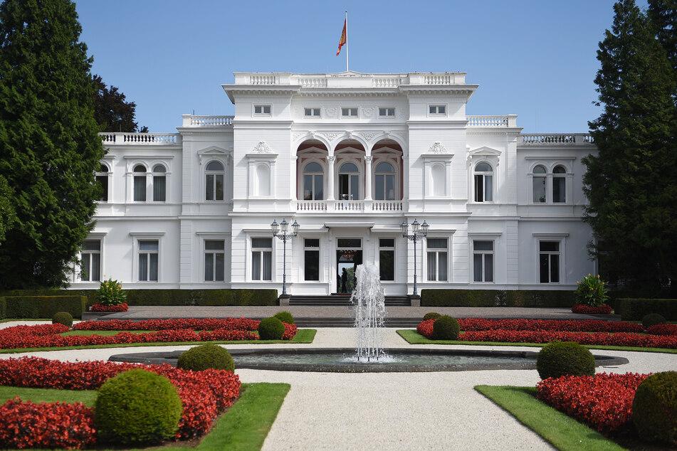 Mann auf Gelände der Villa Hammerschmidt geschnappt!