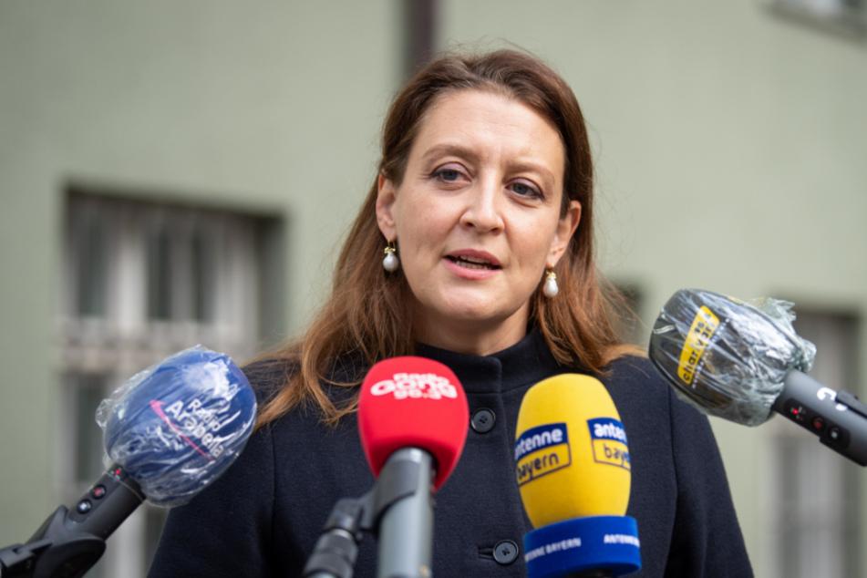 Anne Leiding, Pressesprecherin der Staatsanwaltschaft München I.