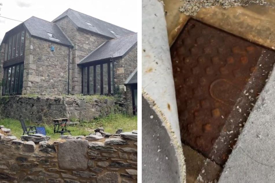 Ein Paar aus Großbritannien fand in einem Gebäude aus dem 16. Jahrhundert etwas Ekliges.