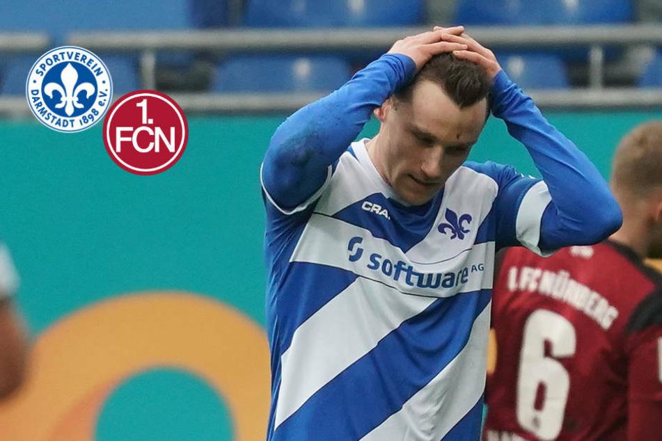 Lilien-Wahnsinn! SV Darmstadt 98 verliert durch irres Eigentor gegen 1. FC Nürnberg