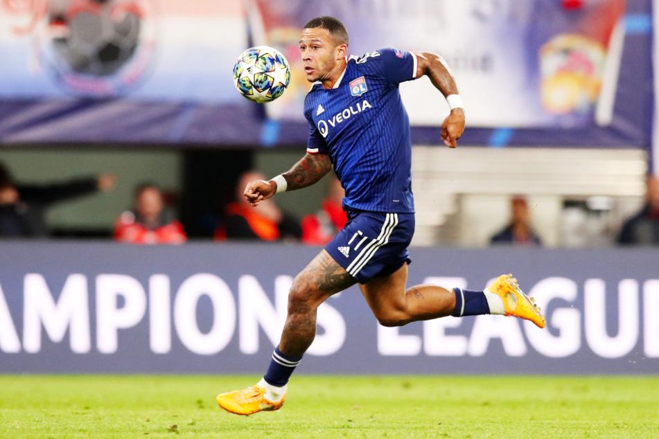 Memphis Depay (26) ist Kapitän, Torjäger und Leistungsträger von Olympique Lyon.