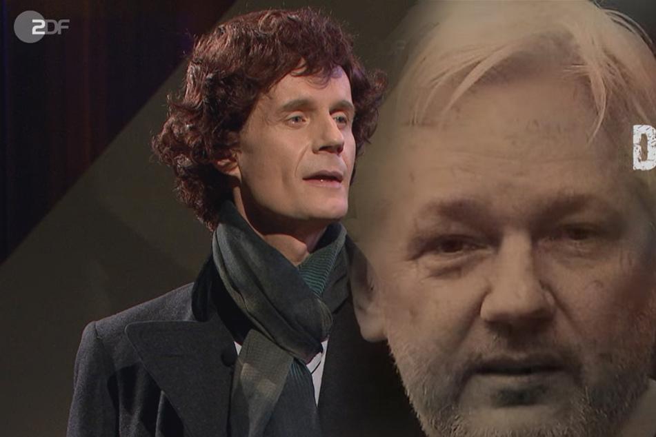"""Die Anstalt: Satire darf im """"Fall Assange"""" alles, zum Glück!"""
