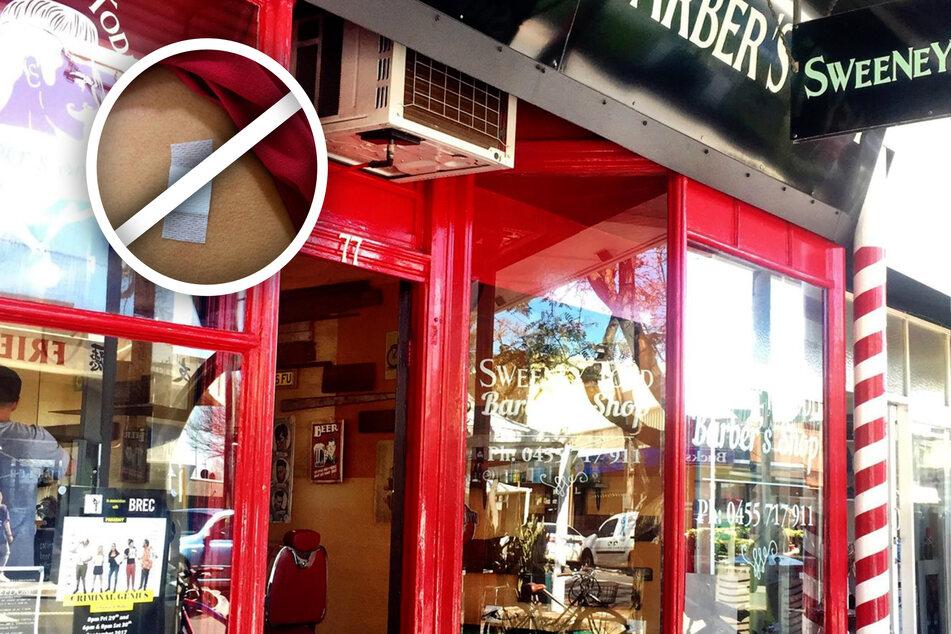 """Der """"Sweeney Todd Barber's Shop"""" ist ab sofort eine impffreie Zone."""