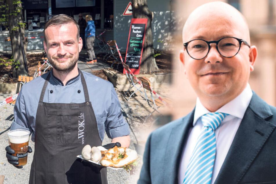Dresden: Sachsen feilt an Öffnungsplan für die Gastronomie