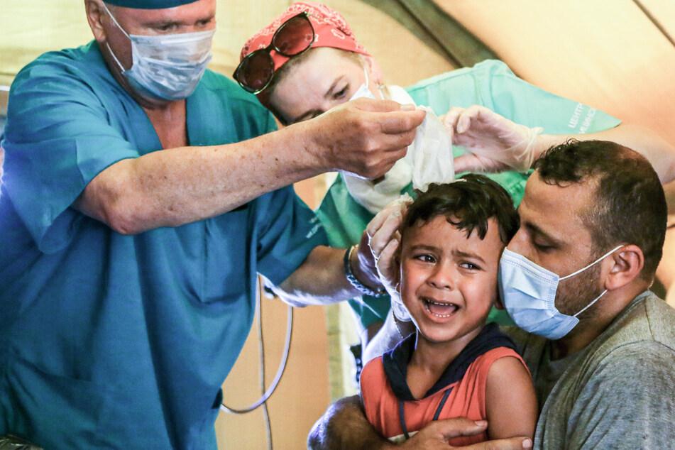Nach Explosion in Beirut: Rund 80.000 Kinder obdachlos, Zahl der Toten steigt