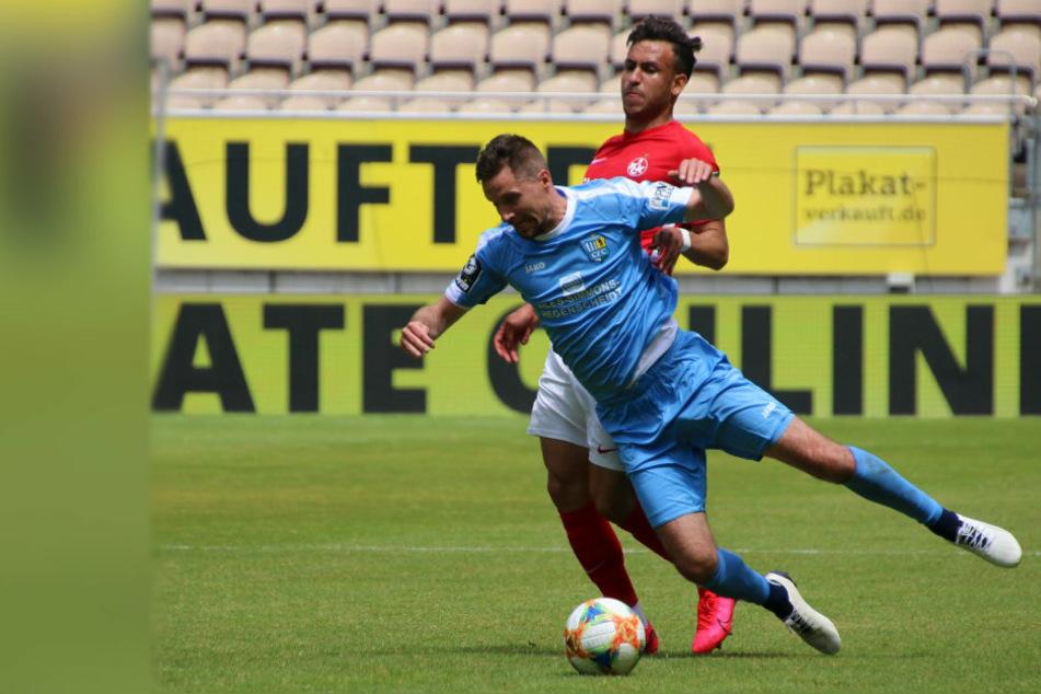 Bittere Niederlage für den CFC in Kaiserslautern.