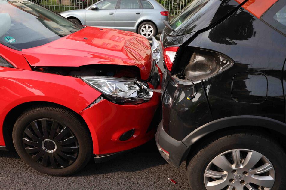 An allen Fahrzeugen entstand ein Sachschaden.